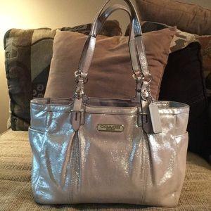 Iridescent Coach Handbag